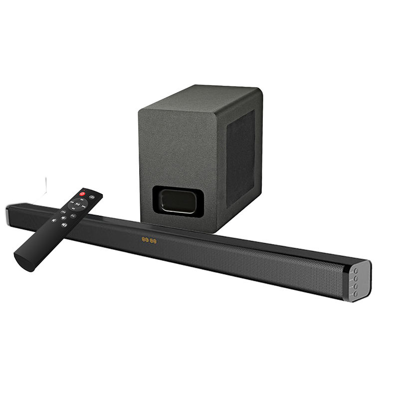 samtromic 2.1CH Bluetooth Soundbar with wireless subwoofer, wireless sound bar with optical/HDMI(ARC) SM-S3116