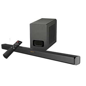 Samtromic 2.1CH Bluetooth Soundbar mit wireless subwoofer, wireless sound bar mit optische/HDMI (ARC) SM-S3116