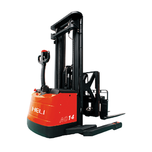 Warehouse Narrow Aisle Reach Stacker 1.5 Ton Electric Reach Forklift Truck