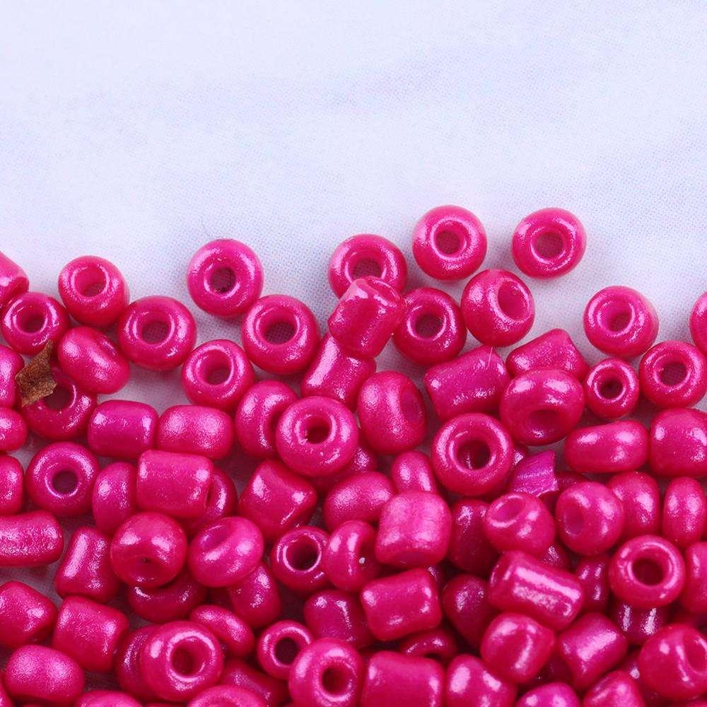 10 G de pony-beads 4 mm 6//0 Mix opaco multicolor indios perlas de vidrio
