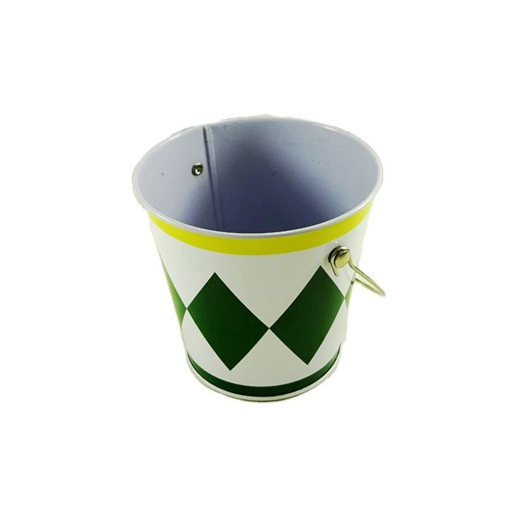 Painted Metal Pail