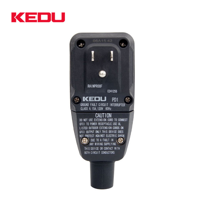 KEDU <span class=keywords><strong>GFCI</strong></span> 120V 15A Boden fehlerstrom unterbrecher ALCI Home appliance