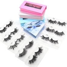 fluffy mink eyelash wholesale False eyelash 25mm real 3d mink eyelash vendor lashes3d mink wholesale vendor