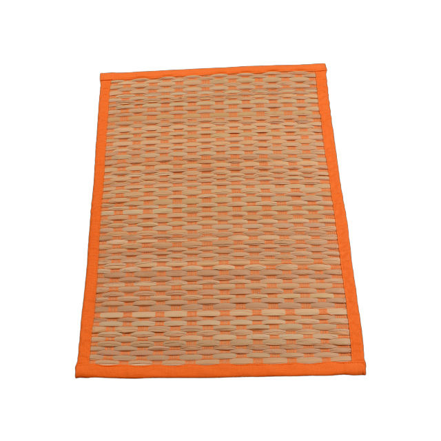 High Quality Durable Designing Foldable Easy Washable Bamboo Straw Mat