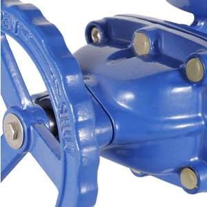 China Memproduksi PN16 Butt Weld Flange Type Gate Valve