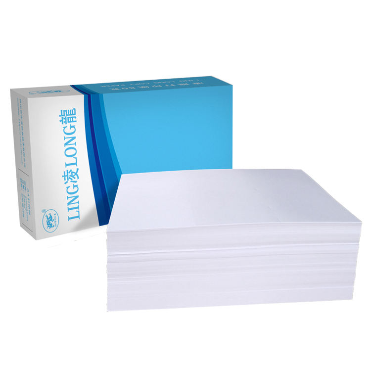 The factory produces and sells white laser office printing paper in various sizes and thicknesses a4 aliquot paper