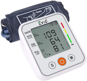 Hot Sale Evic HD LCD Display Portable Home BP Machine Price Upper Arm Automatic Digital Sphygmomanometer Blood Pressure Monitor
