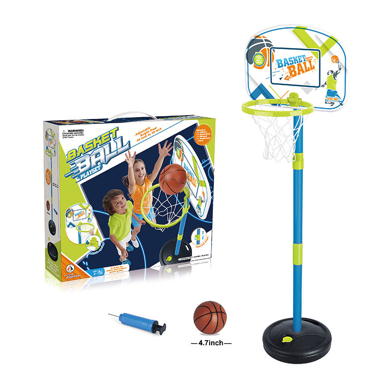 ICTI factory high quality basketball stand play set sport toys for kids