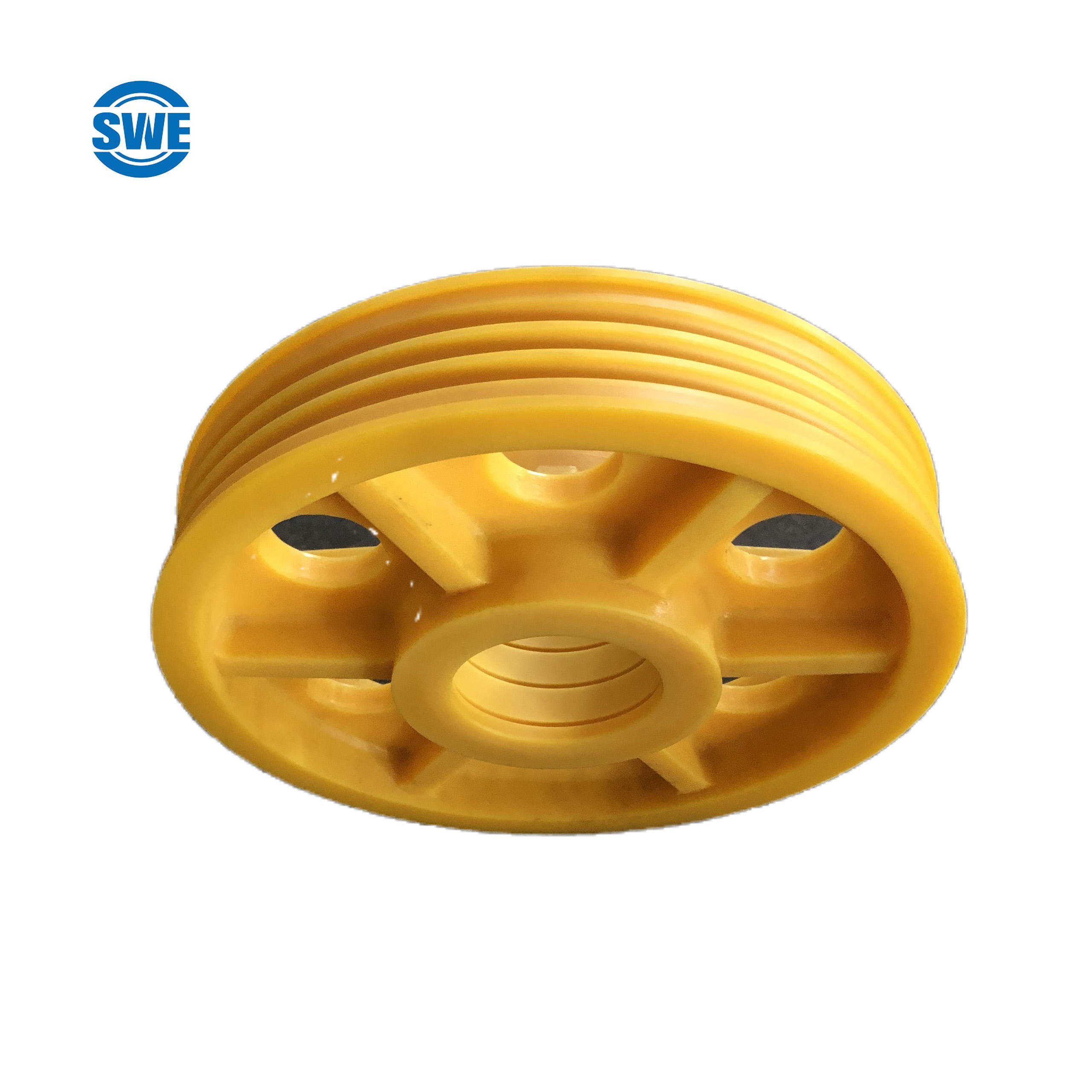 Nylon Rope Sheave Pulley Elevator Nylon Pulley Sheave