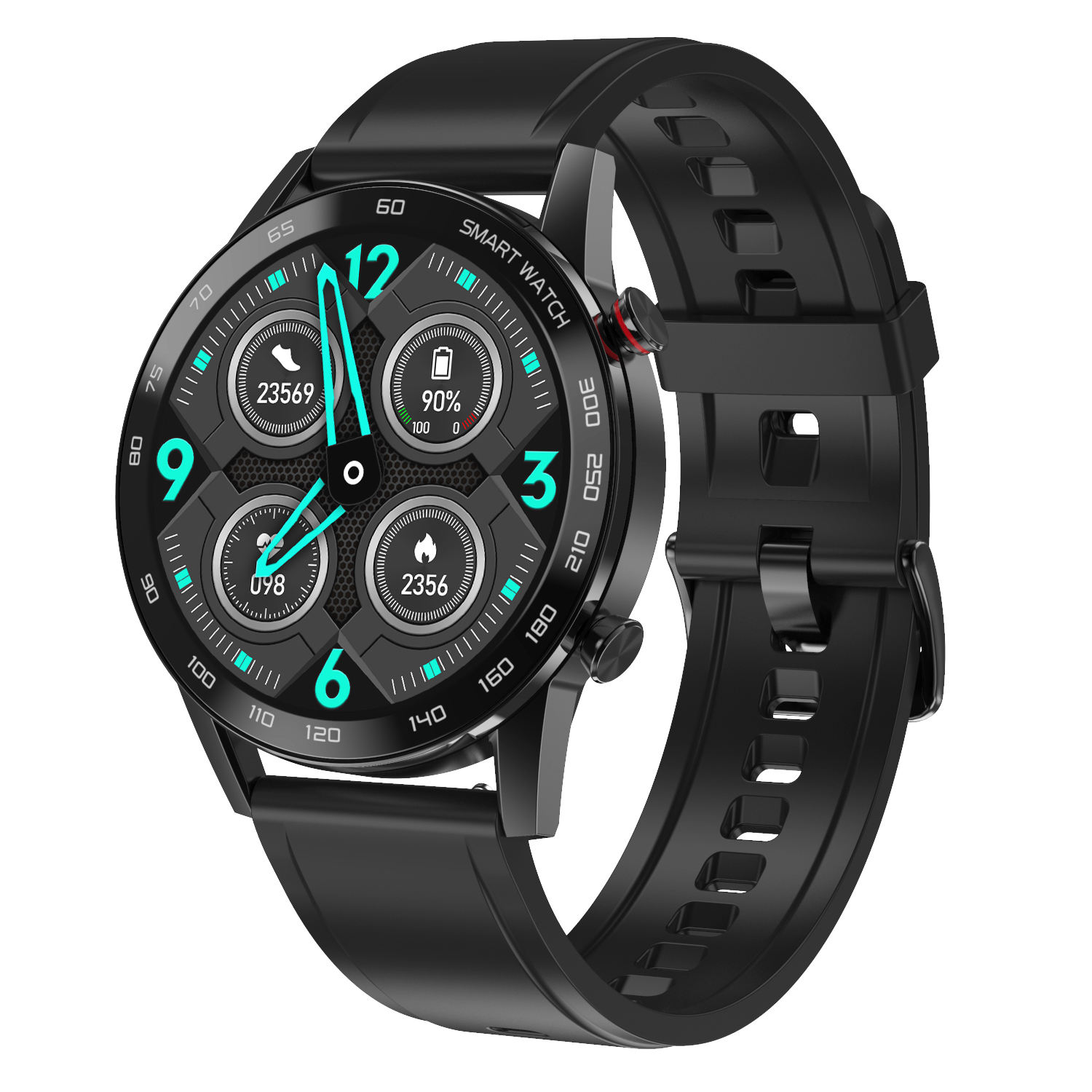 New Style Men Digital Smart Watch DT95 45ミリメートルLong Battery生活IP68 Waterproof ECG監視IOS Android dt95スマートウォッチ