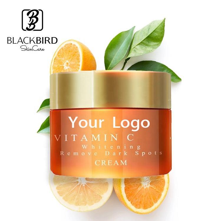 Private label мощный против морщин аскорбиновой кислоты отбеливающий Витамин c крем для сухой кожи, морщин, старения глаз