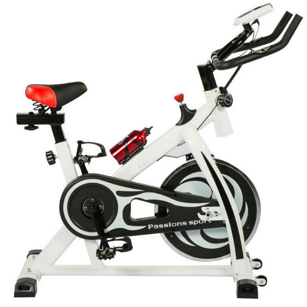 Stationary sport static bicycle mechins silent ergonomic horizontal exercise spin bike xbike for gym