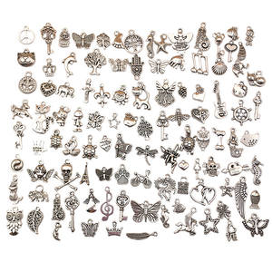 100pcs/pk DIY Accessories for Jewelry DIY Findings Alloy Charms Jewelry Finding Charms