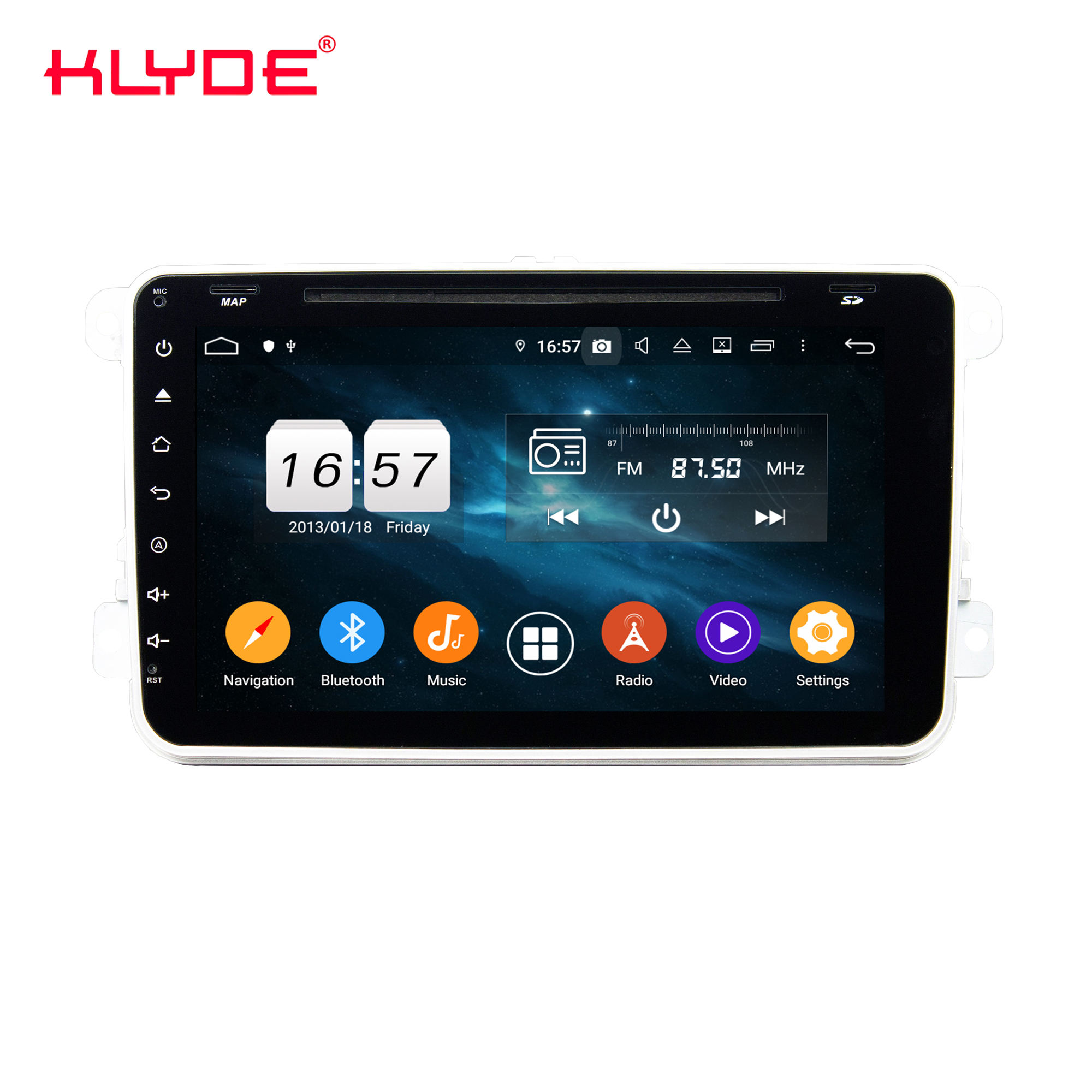 KD-8023 Android 10 IPS bildschirm mit DVD papagei <span class=keywords><strong>bluetooth</strong></span> carplay auto dvd player universal V W