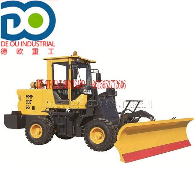 Multi functional off-road หิมะ removal Machine