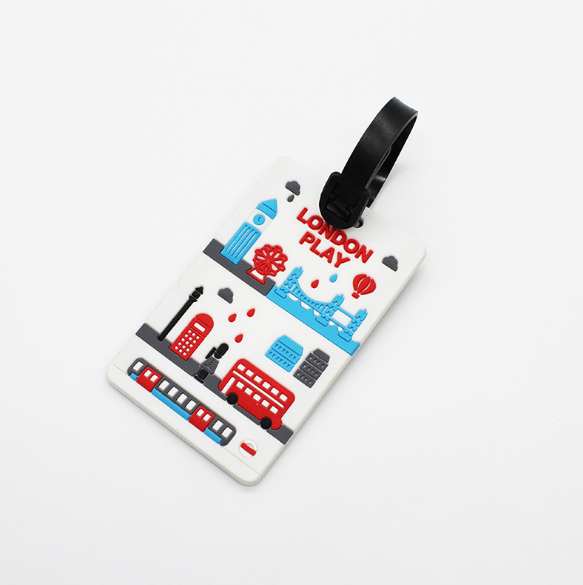 Promotion gifts 및 customized design soft pvc airplane 짐 tag, 핸드백 hl <span class=keywords><strong>태그</strong></span>와