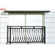 Aluminum Powder Coated Railing Aluminum Stair Handrail