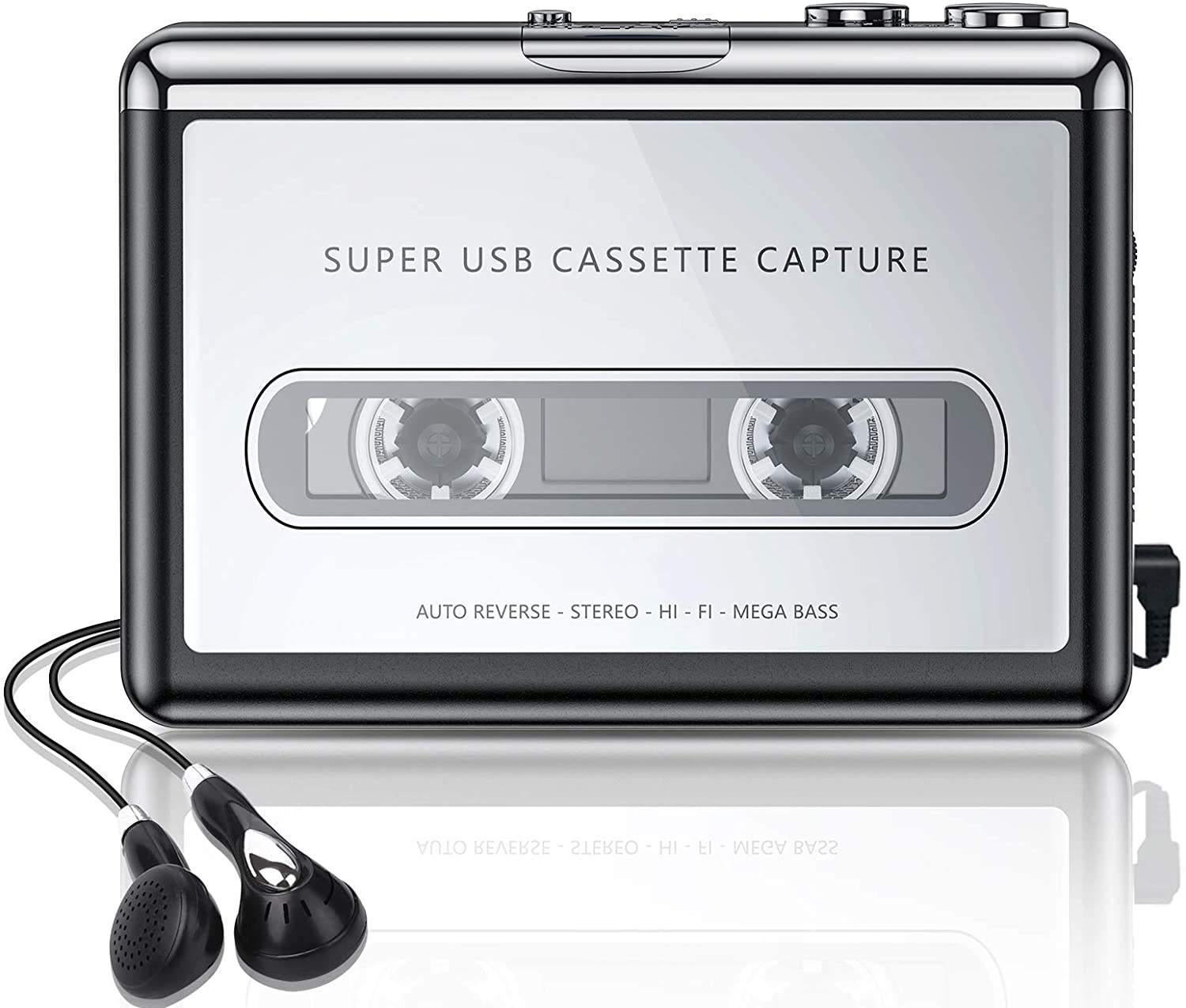 2020 TOP selling Walkman Cassette Tape To MP3 CD Converter USB,Portable Cassette Tape Converter Captures MP3 Audio Music