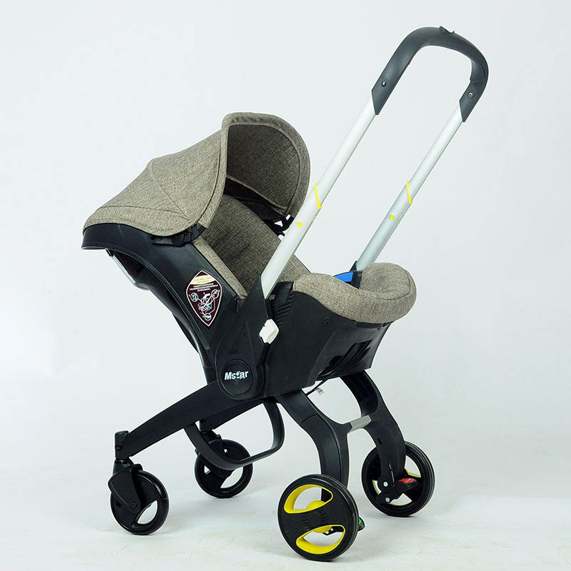 Mama love one hand stroller yoya baby stroller automatic folding stroller luxury parts for doll