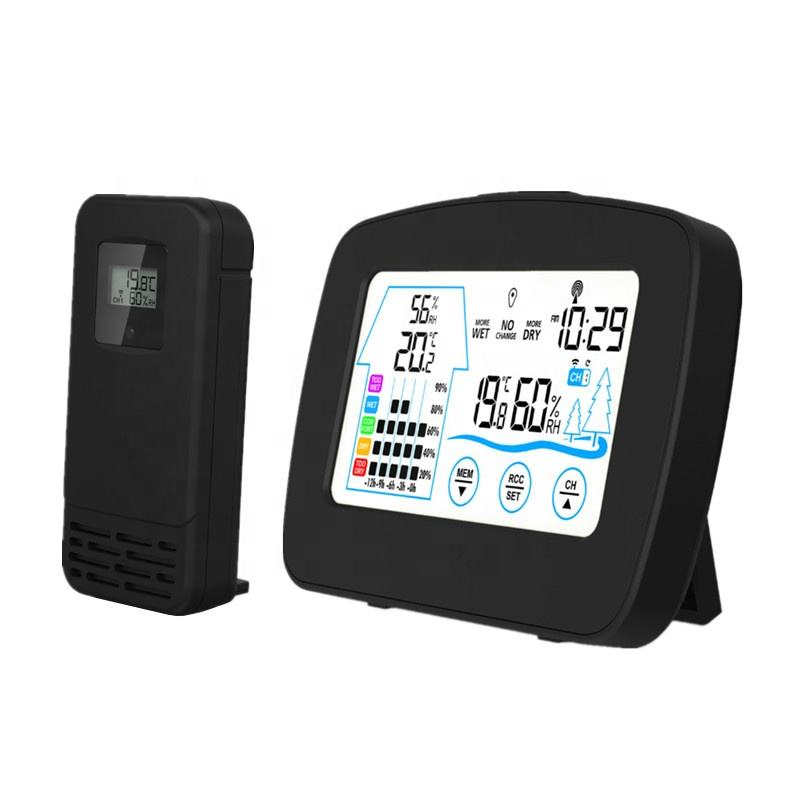 KH-CL149 China Manufacturers Sale Digital Professional Home Agricultural Automatic Wireless Weather Station with Outdoor Sensor