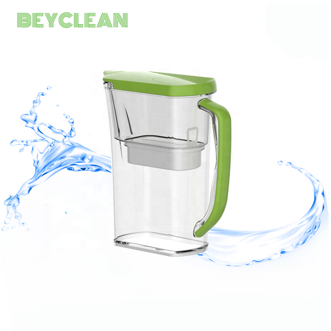 hot sale purifier water filter jug coconut fiber cartridge jug pitcher free samples filters replacement