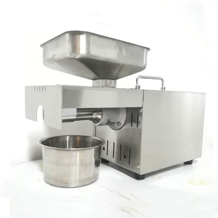 stainless steel small scale virgin coconut oil extraction machine/olive peanut sesame oil press equipment