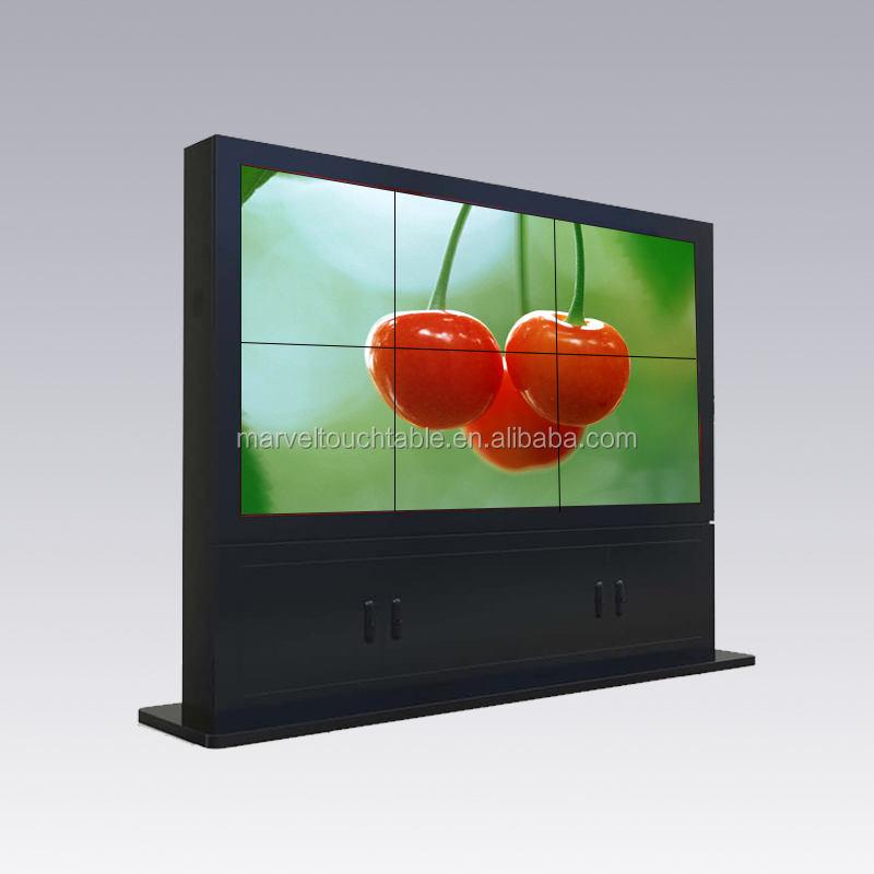 Shopping parete 3*3 coperta pubblicità a schermo <span class=keywords><strong>lcd</strong></span> tft 4 k narrow bezel <span class=keywords><strong>lcd</strong></span> video wall display