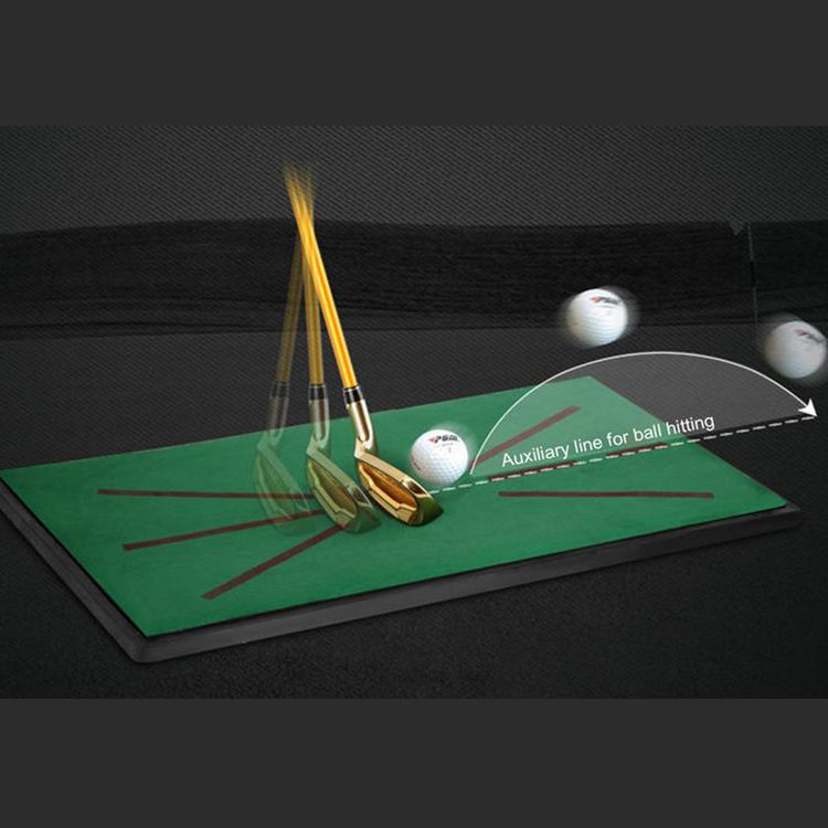 In Stock Hot Golf Hitting Swing Mat Golf Training Mat For Swing Detection Batting