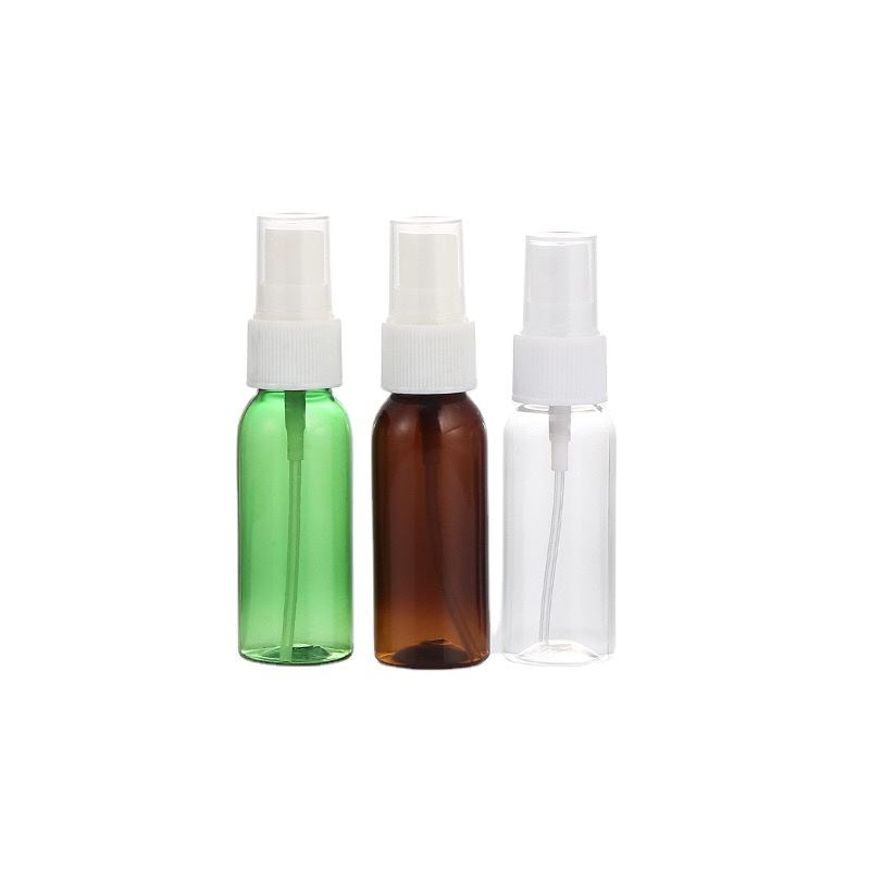 Clear bottle bottle 30ml Spray Bottle Perfume Refillable disinfectant alcohol spray