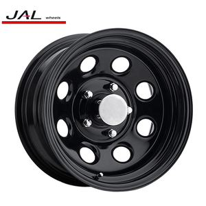 Wheels With Negative Offset 4x4 Offroad Steel Rims For SUV