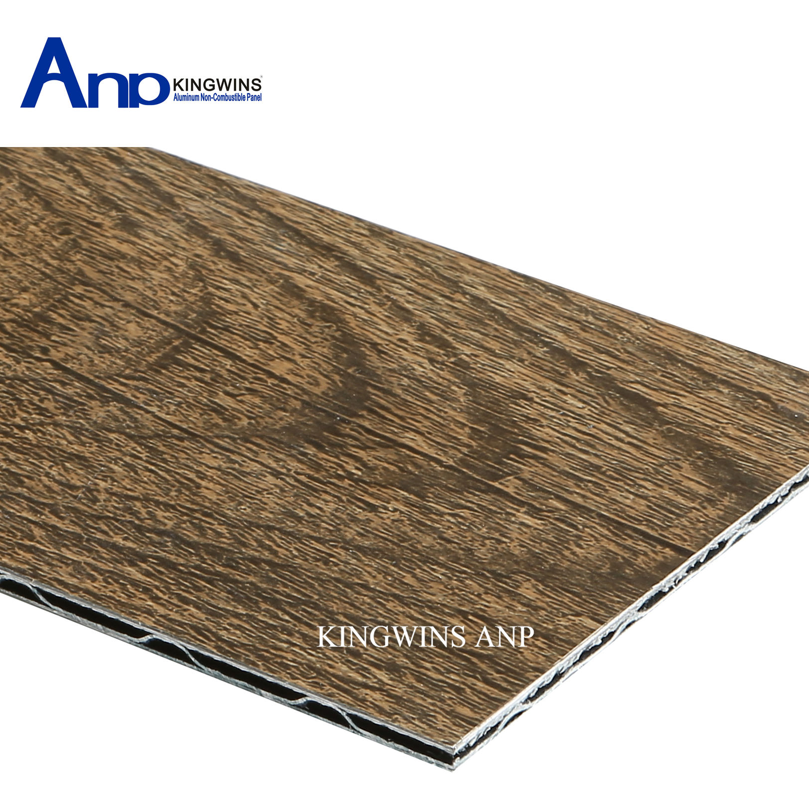 PE and PVDF Customized Wood Grain Aluminum Composite Panels for Cladding (103)