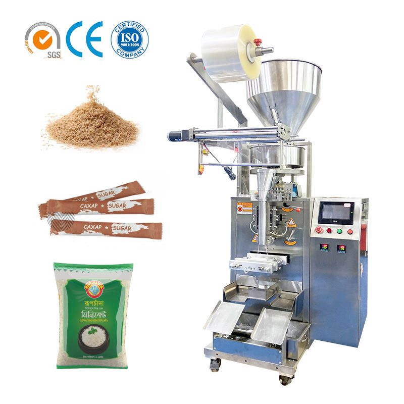 Automatic Salt/Rice/Bean/Seed/Spice/Sugar Stick Sachet Food Packing Packaging Machine
