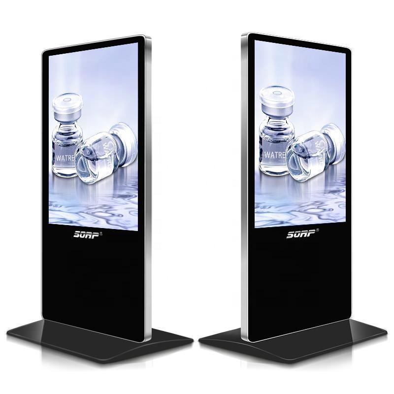 indoor Vertical Floor Stand LCD HD Touch Advertising Display Screen