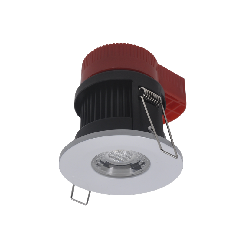 UK Standard 8W IP65 Dimmable LED Fire Rated Downlight 3CCT widely use