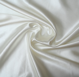 Wholesale White 100% Polyester Silk Satin Fabric for Sublimation
