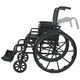 For Wheelchair For Disabled Portable Folding Detachable Aluminum Wheelchair For Disabled Elderly People