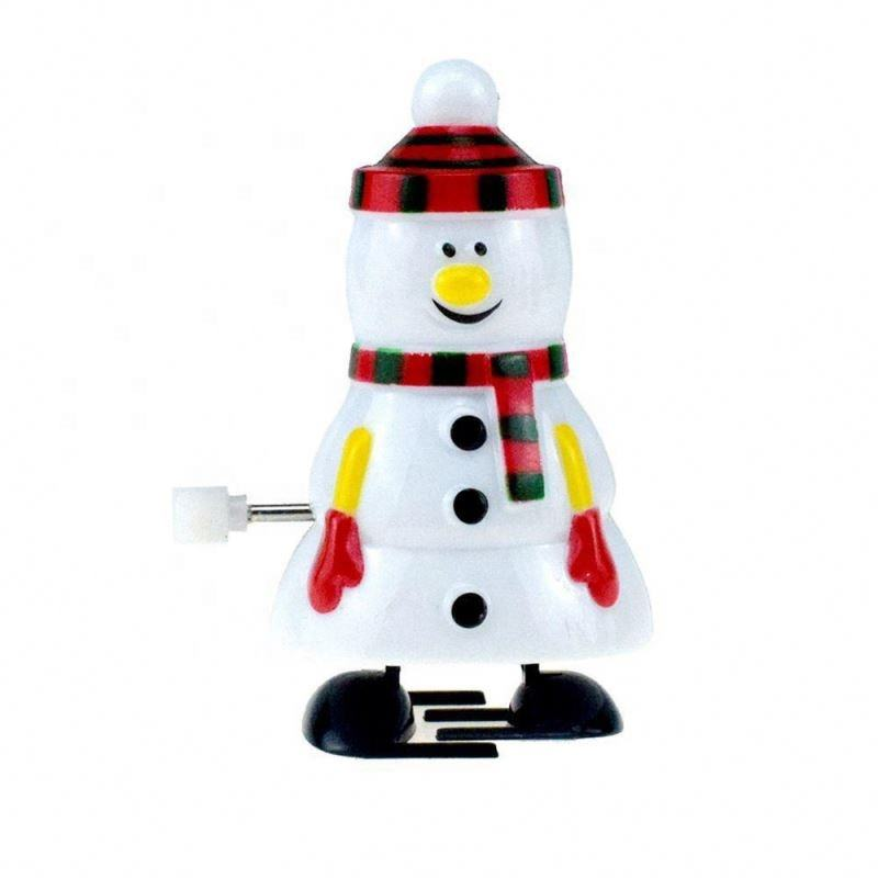 2021 New Style Wind - Up Toy Snowman Model Funny Snowman Toy For Kids