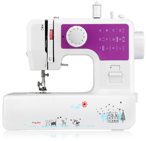 Kingone JG-1602 adjustable domestic multifunctional overlock mini easy stitch sewing machine for home use