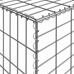 Customized minerals metallurgy iron gabion welded gabion wire mesh