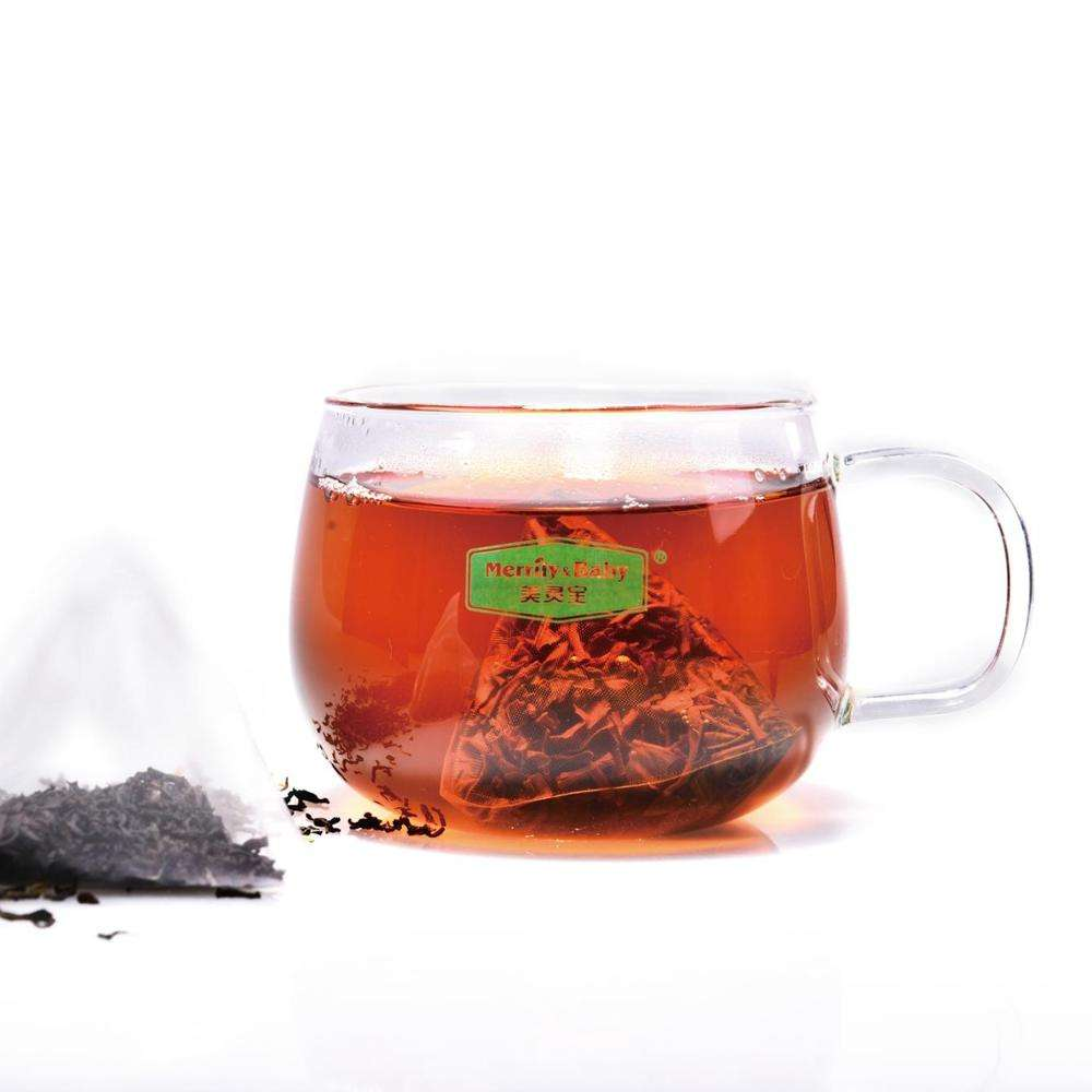 Free Sample Premium Customized 100% Organic Rooibos Darjeeling Yerba Mate Ceylon Black Tea Lychee Black Tea