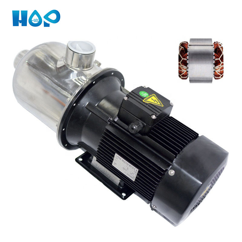 HOP RV 12-20 horizontal light type centrifugal pump stainless steel high pressure multistage water pump