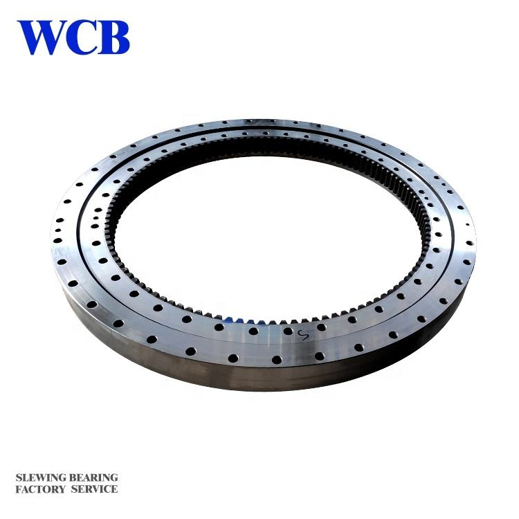 TR250M-5 brand crane Big gear slewing ring Swing Turntable Bearing