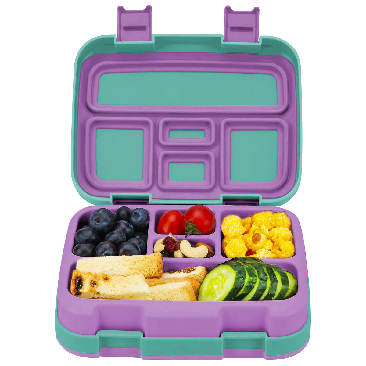 Square Bento Boxes Bento Lunch Box Children's Bpa Free Leakproof Fruit Food School Bento Bulk Eco Lunch Boxes For Kids