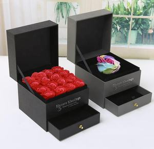 luxury design jewelry gift small wooden gift box