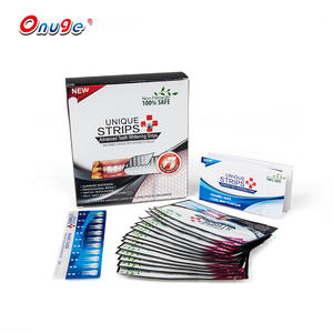 Excellent Whitening Effect Dry Teeth Whitening Strips Charcoal