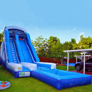 Cheap commercial used inflatable water slide with high quality