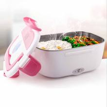 Easy carrying heating lunch box rechargeable electric heating food storage box heating lunch box