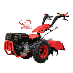 Walk behind two wheel mini small farm tractor with cultivator for sale