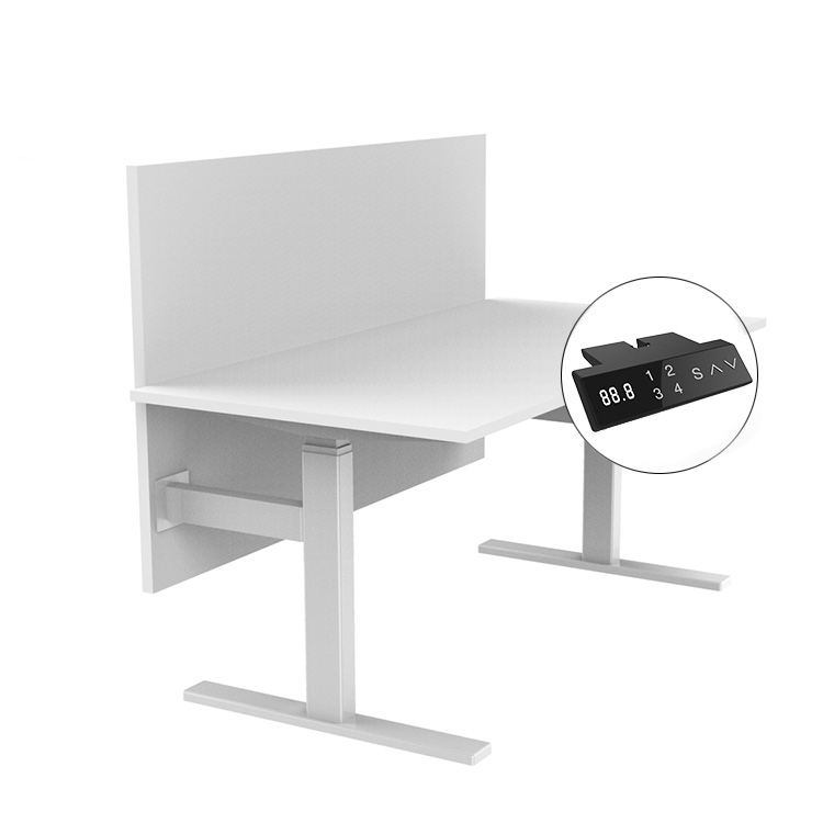 Healthy Life Office Furniture Ergonomic Height Adjustable Standing Sit Table Adjustable Hight