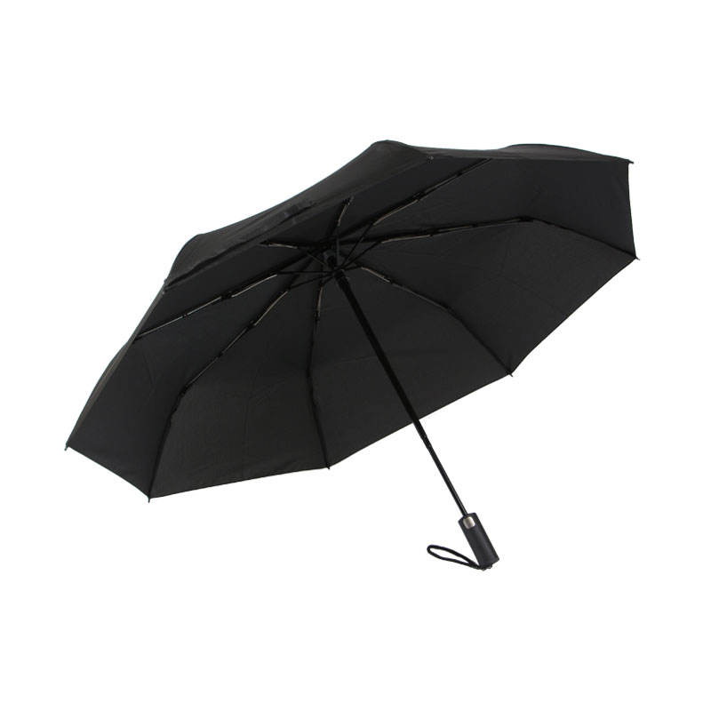America Patent No rebounding special auto open close fully automatic mini travel 3 folding umbrella with gift box